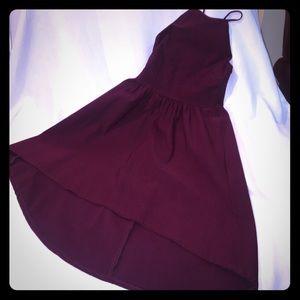 Charlotte Russe spaghetti strap hi-lo dress Medium